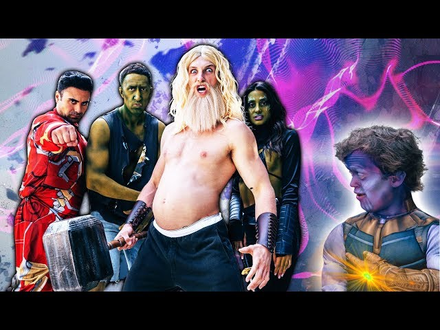 FAT THOR AND THE AVENGERS IN REAL LIFE!