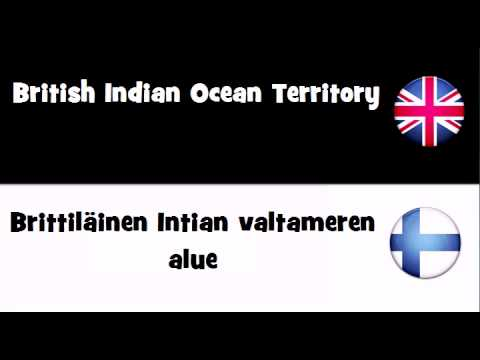 SAY IT IN 20 LANGUAGES = British Indian Ocean Territory