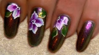 One stroke flowers and duochrome polish