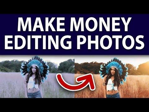 How To Make $15 Per Hour Editing Photos Online! Make Money Online!