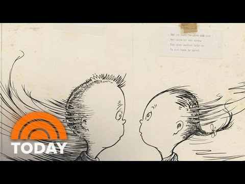 Long-lost Dr. Seuss Book 'What Pet' Discovered, Being Published | TODAY