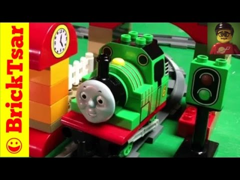 Thomas And Friends Lego Duplo 5543 Percy At The Train Sheds Toy