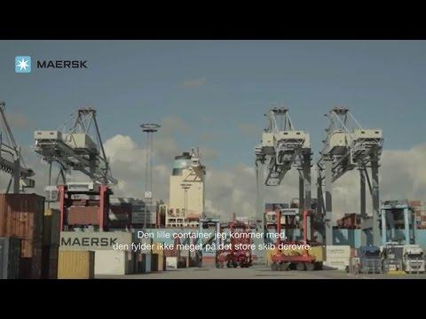 The Maersk Group in Denmark - Aarhus Port
