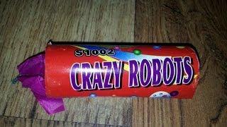 Triplex Crazy Robots TXP484/S1002(Sehr gute Blitzknallkörper mit intensivem roten Vorbrenner. Bis auf die etwas kurze Lunte sind die Dinger echt spitze und auch extrem laut. Ich hoffe ich bin euch ..., 2014-04-18T16:00:01.000Z)