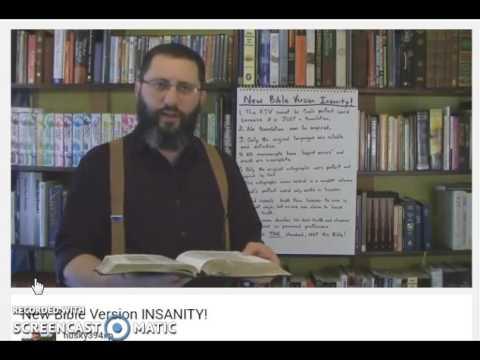 New Bible Changes INSANITY! no Mandela Effect