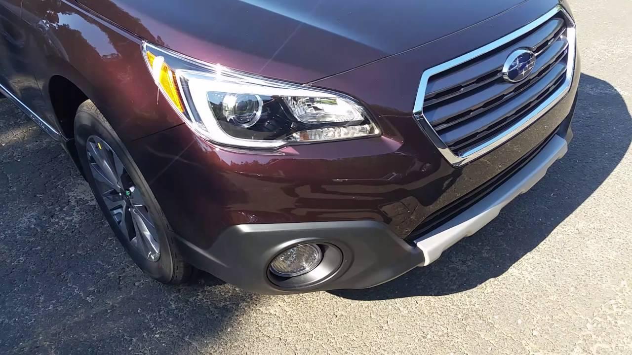 New Subaru Outback >> 2017 Subaru Outback Touring w/ Saddle Brown interior - YouTube