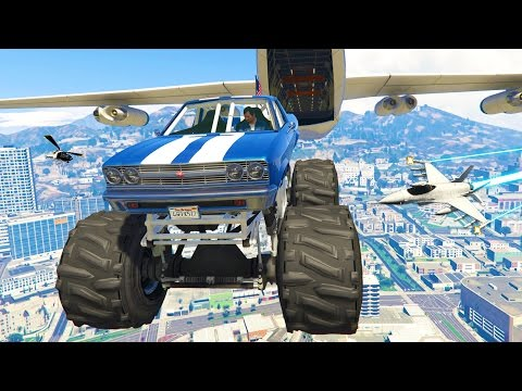 GTA 5 Real Life Mod #23 - THE WORLD'S BEST STUNTS!! ULTIMATE
