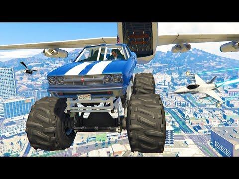 GTA 5 Real Life Mod #23 - THE WORLD'S BEST STUNTS!! ULTIMATE STUNTMAN! (GTA 5 Mods Gameplay)
