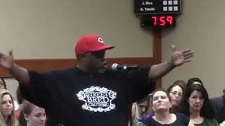 Brother Speaks Truth at Fort Bend ISD School Board