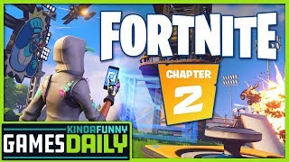Fortnite: Chapter 2?! - Kinda Funny Games Daily 10.11.19
