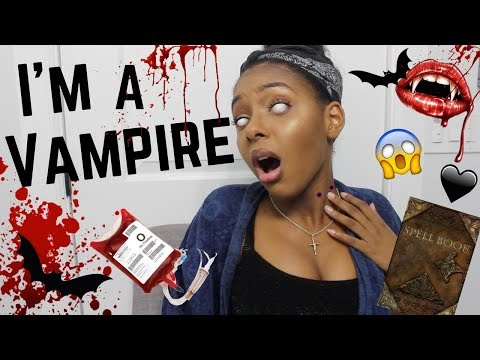 TRYING VAMPIRE SPELLS