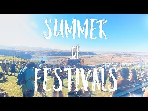 Summer of Festivals (Odesza - Late Night)