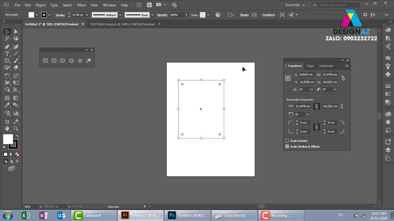 Tổng hợp hiệu ứng trong thiết kế đồ họa, học thiết kế đồ họa illustrator