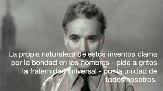 The Great Dictator Speech - Charlie Chaplin Subtítulos En Español En HD 720p