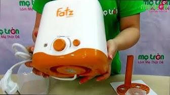 Máy hâm sữa Fatzbaby FB3011SL - metron.vn - Máy hâm sữa 2 bình được các mẹ ưa chuộng nhất