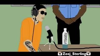 Alkaline Steals Vybz Kartel Formula. [Jamaican Cartoon]