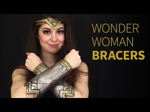 These Wonder Woman Bracers only took 1 year to make! 😭