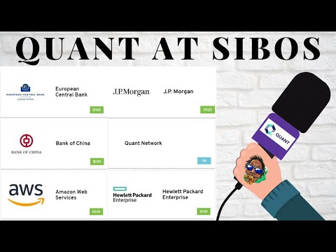 Oracle and Quant at Sibos Among Microsoft, IBM, Amazon, The Federal Reserve, Ripple, HP And More!
