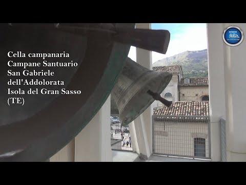 Cella Campanaria - Campane Santuario San Gabriele dell'Addolorata - Isola del Gran Sasso (TE)