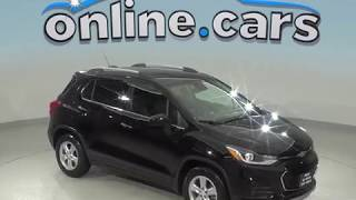 C99000TA Used 2017 Chevrolet Trax LT FWD 4D Sport Utility Black Test Drive, Review, For Sale