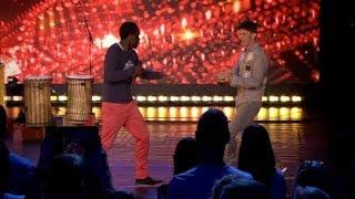 Valentijn en Koen nemen de act van Otentico over     Belgium's Got Talent    VTM