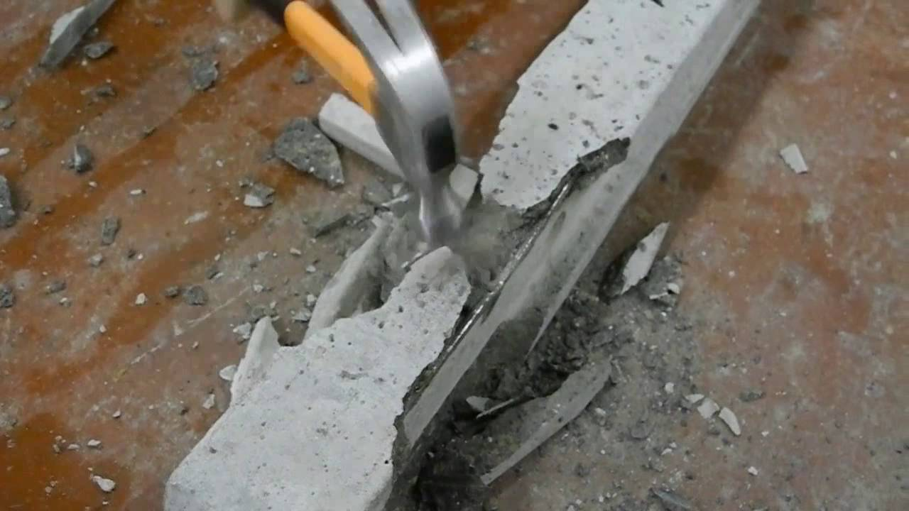 Make Lightweight Concrete : Lightweight concrete fence post vs normal