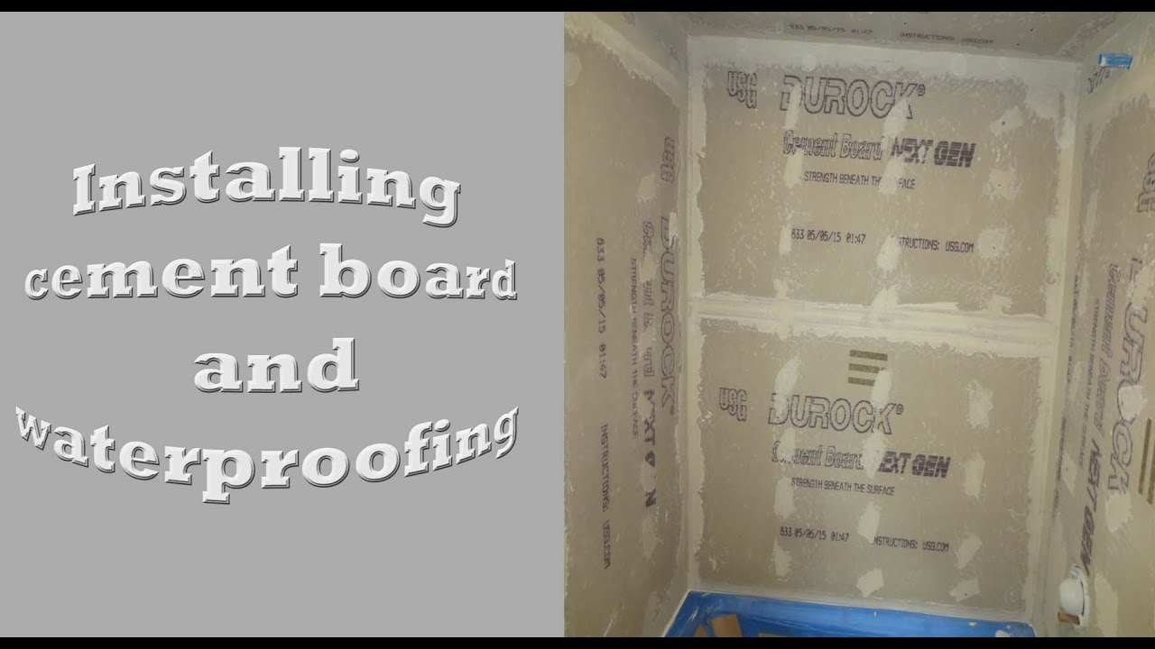 Tub Walls Complete Tile Bathroom Install, Tub And Bathroom Walls. Part 1    YouTube