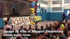Mayport Elementary Welcomes Jaxson de Ville