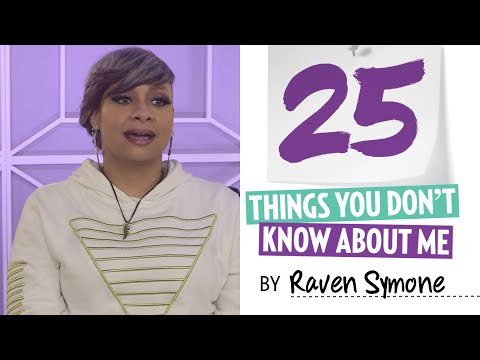Raven Symone 25 Things You Don't Know About Me