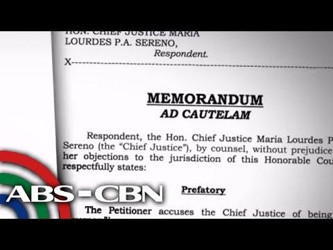 Quo warranto petition laban kay Sereno, may draft decision na?