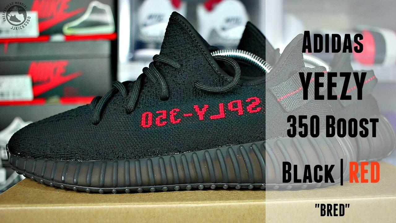 Conclusión Embrión atravesar  Adidas YEEZY 350 Boost Black/Red