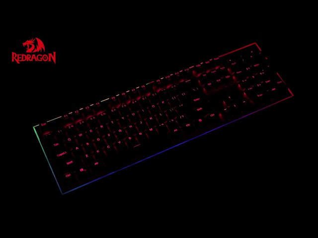 Redragon K571 SIVA RGB Backlight Mechanical Gaming Keyboard
