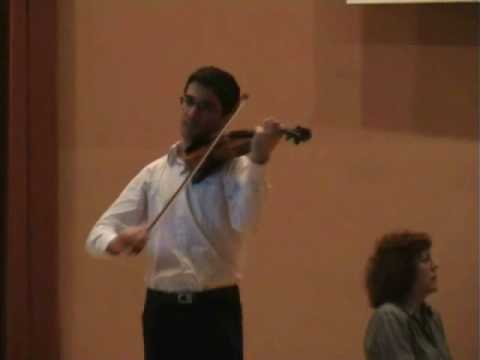 Mendelssohn: Violin Concerto (2° mov.) - Pedro Barreto