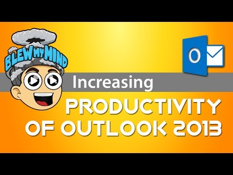 Best Microsoft Office Outlook 2013 Increasing Productivity Tip # 1 ( still works in 2017 )