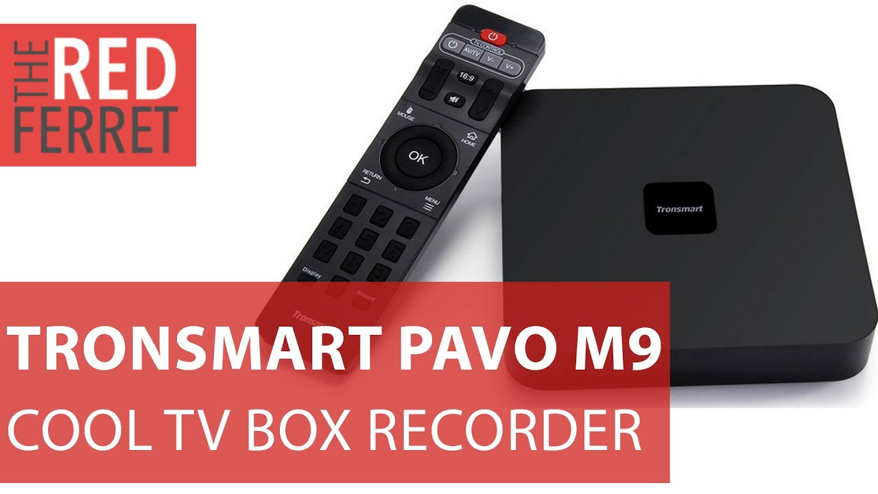 Tronsmart Pavo M9 - now you can record from your Android TV Box [Review]