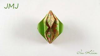 Origami Jmj - Christmas Ornament