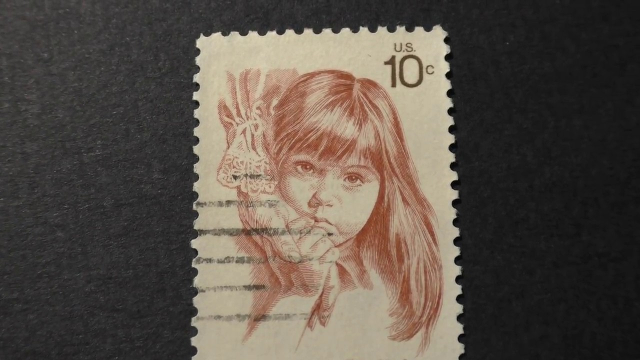 Postage Stamp USA USPostage Retarded Children Can Be Helped Price 10 Cents