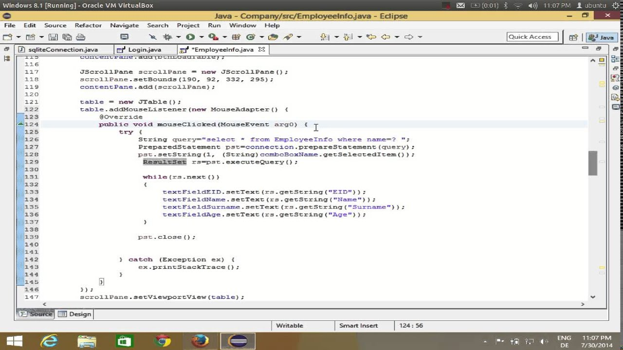 Java eclipse gui tutorial 16 get value from jtable to set into java eclipse gui tutorial 16 get value from jtable to set into jtextfield baditri Gallery