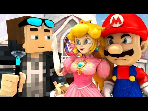 SUPER MARIO 64 VS MINECRAFT! (official) Mario Minecraft Animation Game Challenge