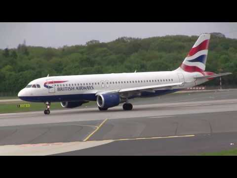 British Airways - A320-200 | Nice Takeoff Sound! | G-BUSI @ DUS