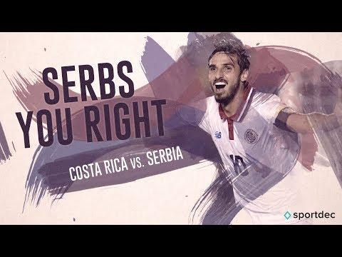 Costa Rica v Serbia - FIFA World Cup Highlights - FIFA 18