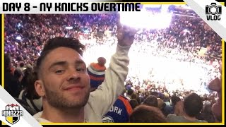 NEW YORK KNICKS OVERTIME!! AT MADISON SQUARE GARDEN!!