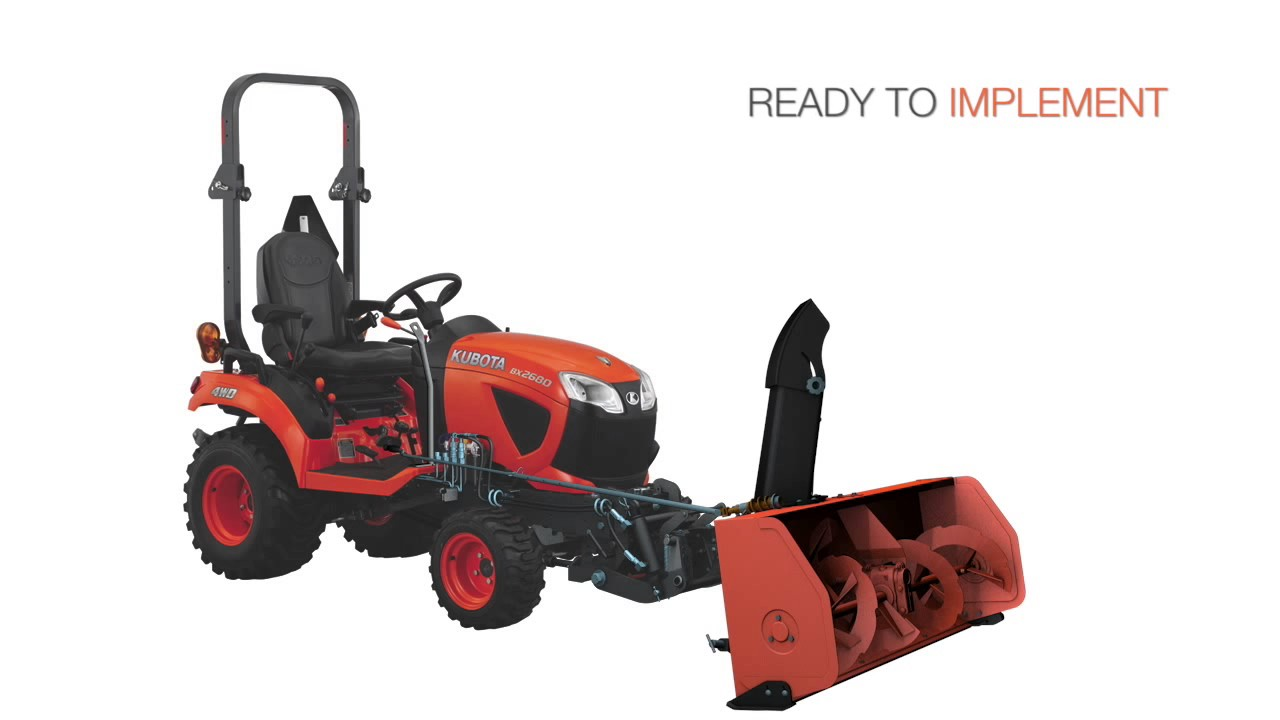 Tractors - Sub-Compact - BX23S | Kubota