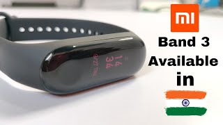 Xiaomi Mi Band 3 Finally Launches in India at a Price of Rs 1,999