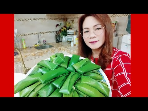 Download How to Make Suman Malagkit Very Tasty And Appetizing / Glutinous Rice Cake