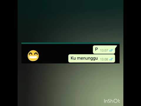 "Prank Chat Ke Cowok Pake Lagu""ku Menunggu""dari Salshabilla By Rossa (cover)"