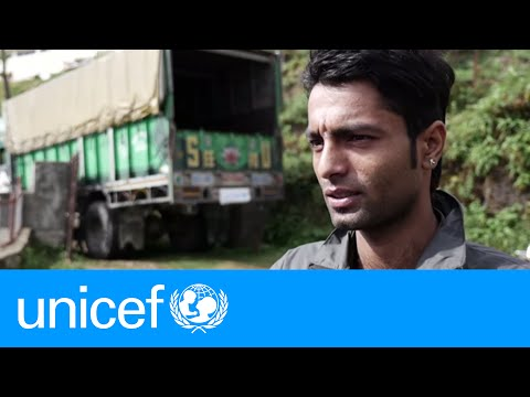 Nepalese Driver Goes Extra Mile Delivering Earthquake Relief   UNICEF