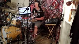 Sting with Stevie Wonder Brand New Day Sting 60th Birthday - Drum Cover