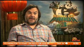Jack Black in Kung Fu Panda 3 - Jabba's Movies Sunday March 20th 2016