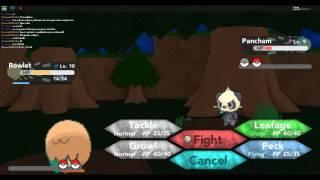 Pokemon con un amigo 2-Roblox